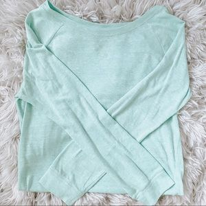 H&M Mint long sleeve